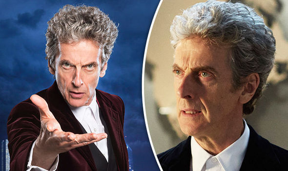 Peter Capaldi is backing a woman