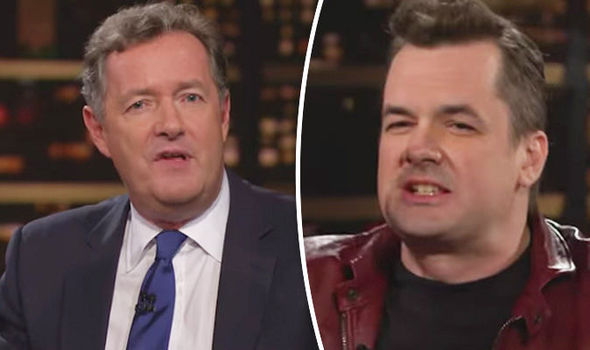 Piers Morgan Jim Jefferies