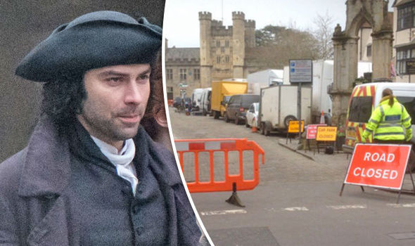 Poldark season 3 Total CHAOS as BBC film crew 'disrupts local Wells town businesses'