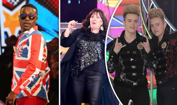 Ray J, Coleen Nolan and Jedward