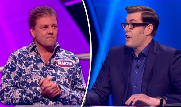 Richard Osman Martin Roberts Pointless Celebrities