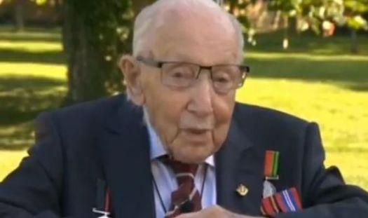 Captain Tom Moore knighthood: WW2 hero reveals initial ...