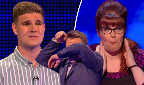 The Chase Bradley Walsh FORCED to intervene over 'unnecessary' Jenny Ryan 'chubby cheek' remark