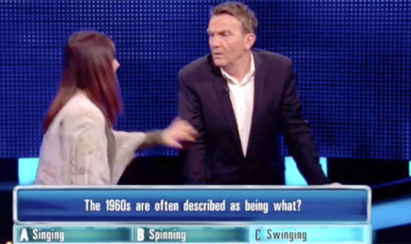 A contestant on The Chase smacks Bradley Walsh