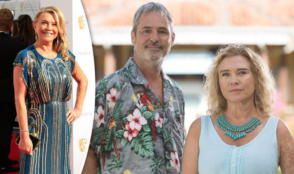Amanda Redman and Neil Morrissey