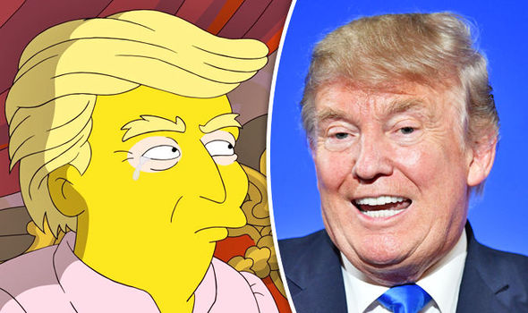 The Simpsons REJECTED Donald Trump's request to voice his own character