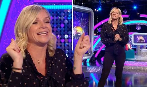 Strictly Come Dancing Zoe Ball Leaves Viewers Distracted