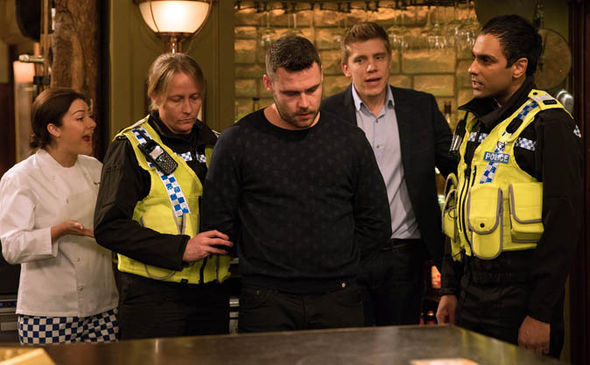 Aaron Dingle arrested