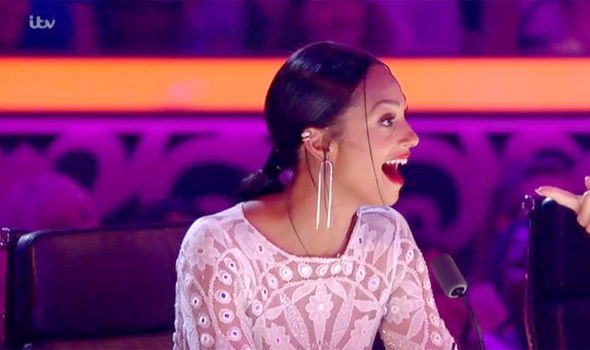 Alesha Dixon was not impressed with John Parnell after she made an appearance in his song