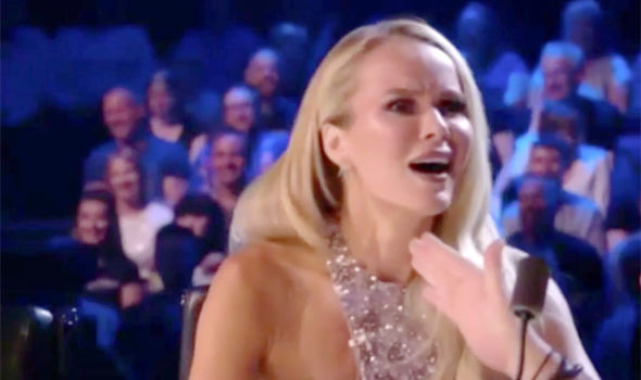 Amanda Holden was left furious over Simon Cowell's botox jibe