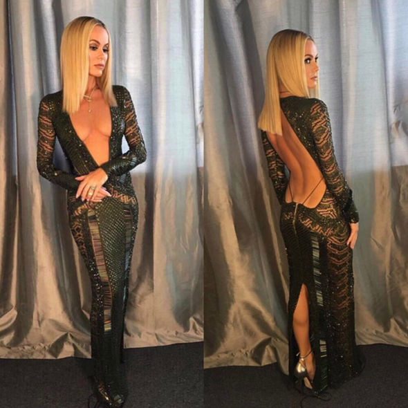 Amanda Holden wears a stunning outfit for Britain's Got Talent