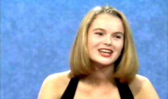 Amanda Holden on Blind Date in the 0s