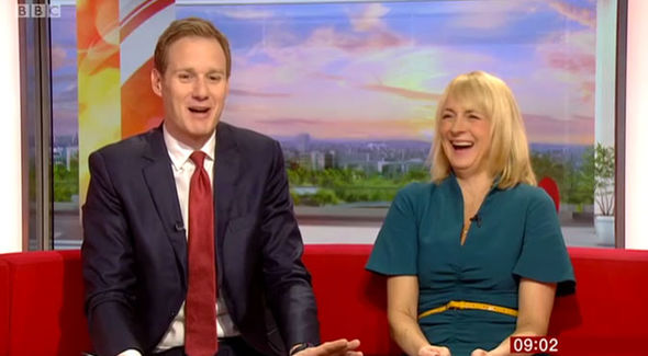 BBC Breakfast Dan Walker lashes out Louise Minchin