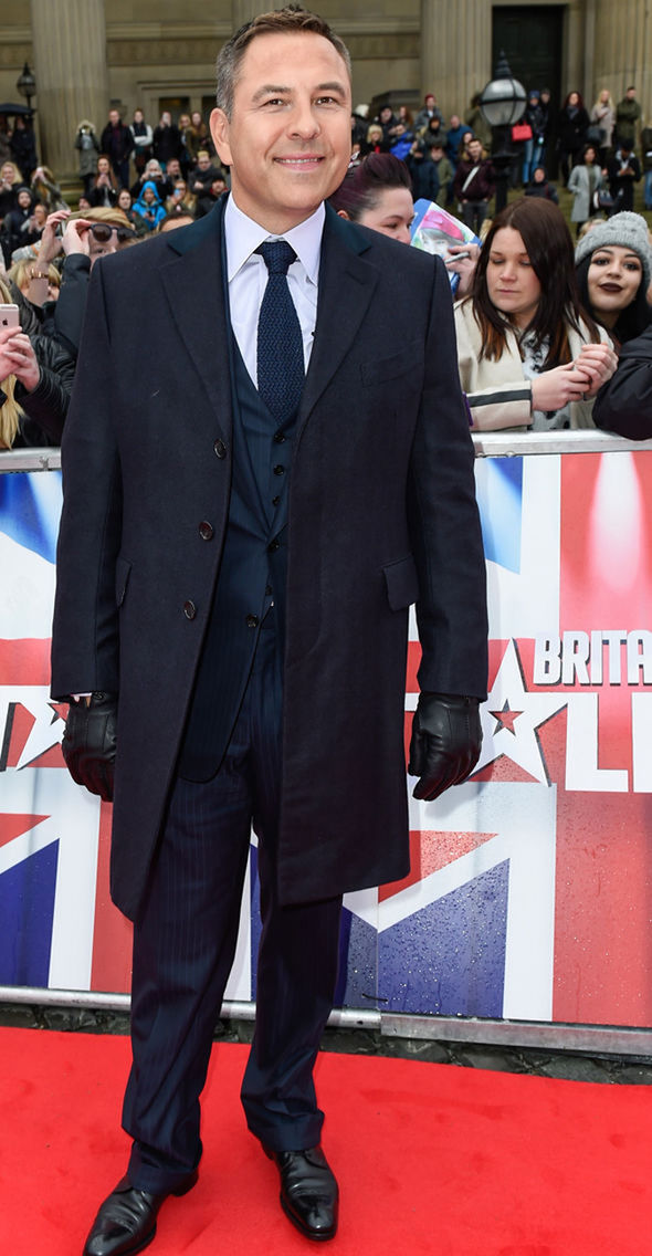David Walliams at BGT auditions