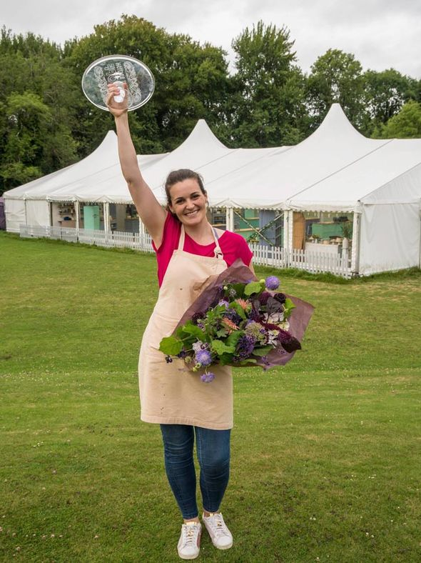 Sophie Faldo was named this year's Great British Bake Off champion