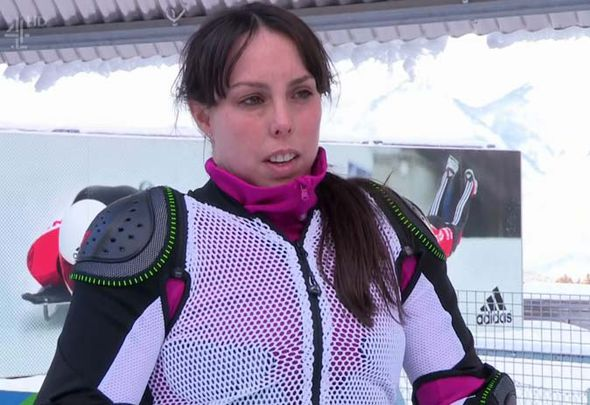 Beth Tweddle competes on The Jump