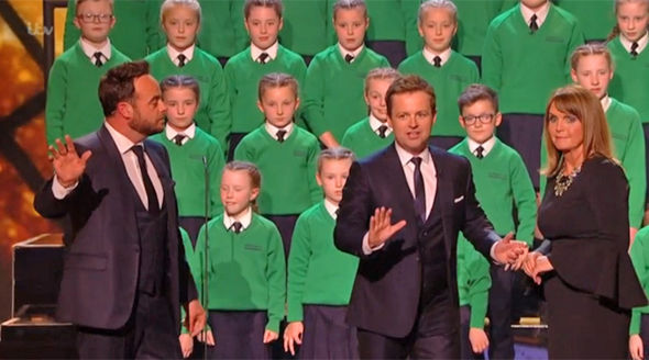 Britain's Got Talent 2017 Ant and Dec halt the show