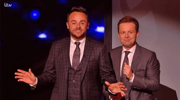 Britain's Got Talent semi-final 2017 Ant and Dec stop the show