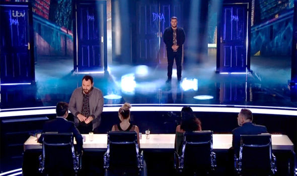 DNA perform in the first semi-final on Britain's got Talent