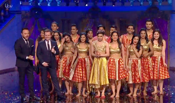 The London School of Bollywood perform on Britain's Got Talent