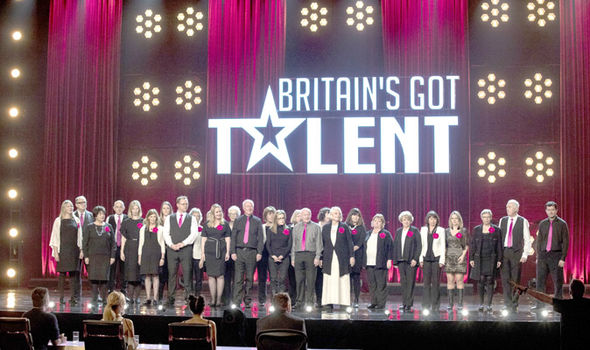 The Missing People Choir perform on Britain's Got Talent