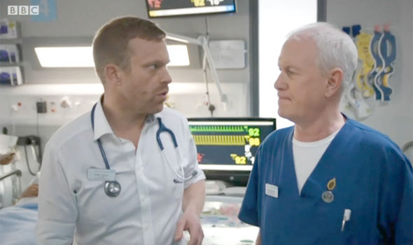 Casualty was shot in one take with one camera