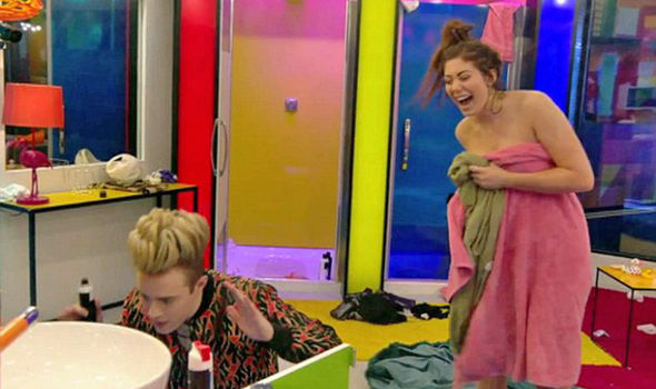 Celebrity Big Brother 2017 Chloe Ferry WARNED by producers after naked Jedward bum rub