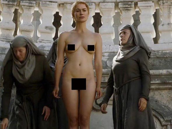 REVEALED Cersei Lannisters nude walk of shame body
