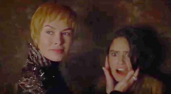 Cersei poisons Tyene