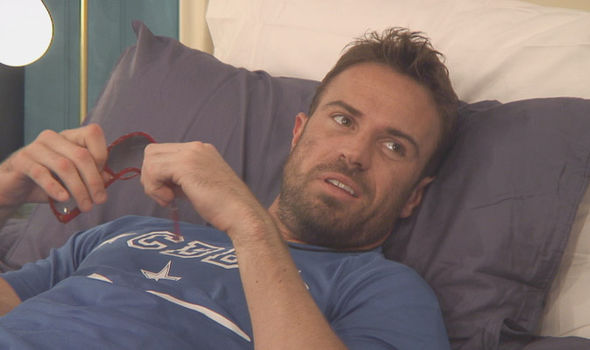 Chad Johnson looked downcast on Celebrity Big Brother