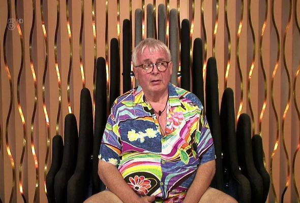 Christopher Biggins on Celebrity Big Brother
