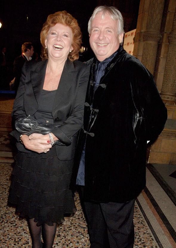 Cilla Black and Christopher BIggins