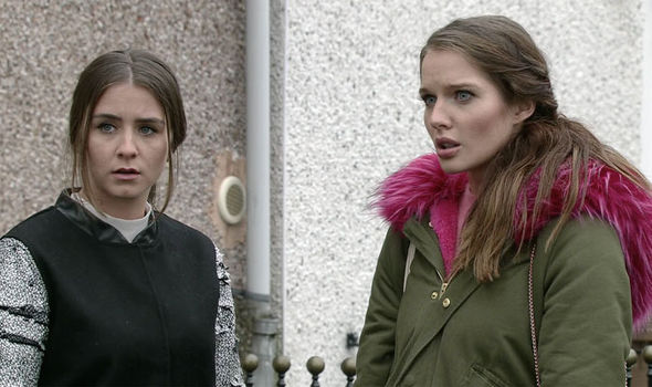Rosie and Sophie Webster on Coronation Street
