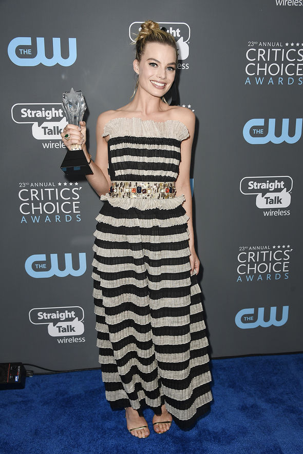 Critics' Choice Awards 2018: Margot Robbie