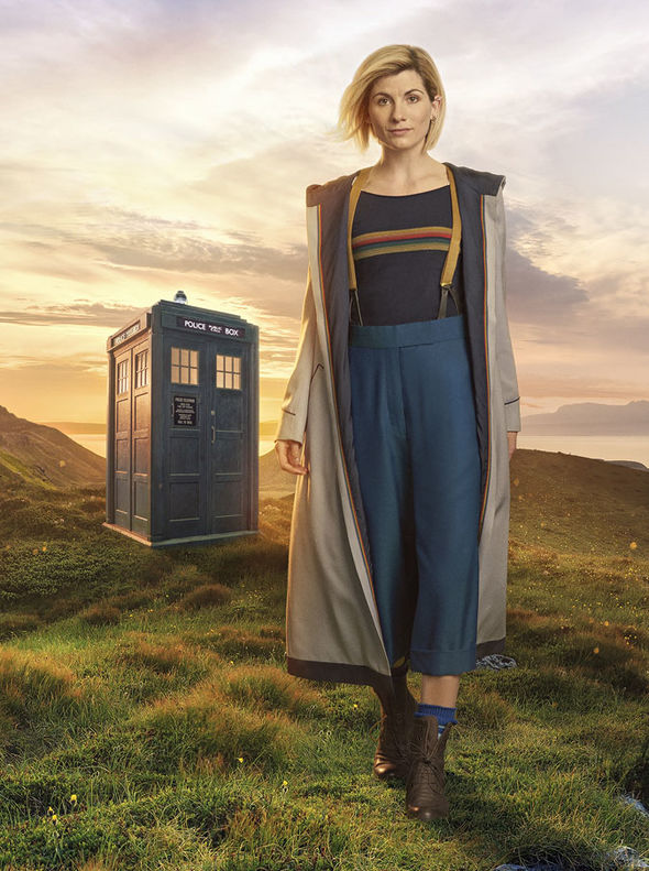 The 13th Time Lord's costume for Doctor Who was revealed last year