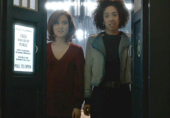 Image result for heather and bill doctor who finale