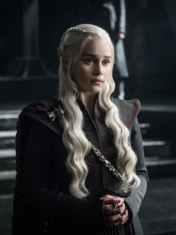 Emilia Clarke as Daenerys season 7