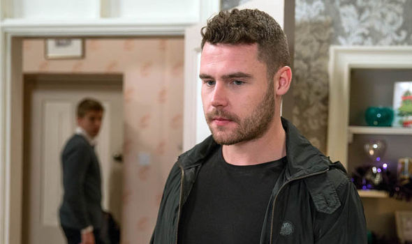 Aaron Dingle and and Robert Sugden face a tough ride on Emmerdale