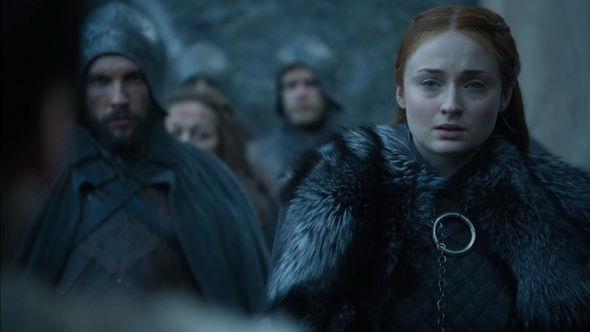 Game of Thrones season 7 Sansa Stark was in shock