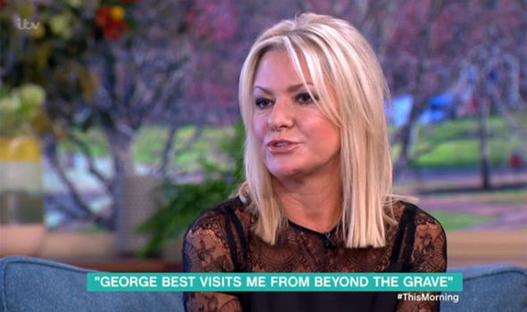 George Best's ex-wife Alex claims his ghost is haunting her