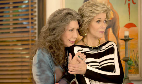 Grace and Frankie: Jane Fonda and Lily Tomlin