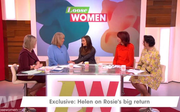 Helen Flanagan on Loose Women