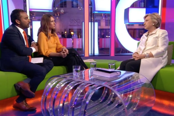 Hillary Clinton on The One Show