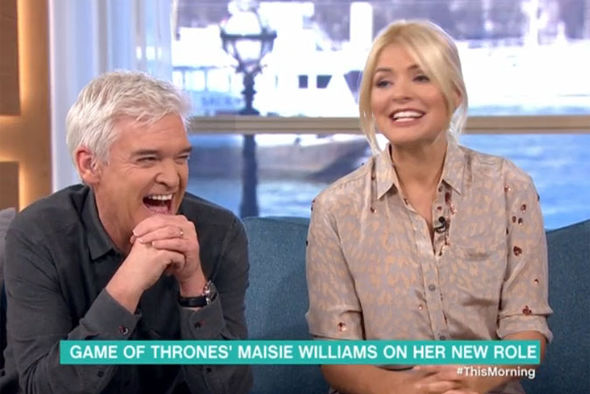 Holly and Phillip on This Morning