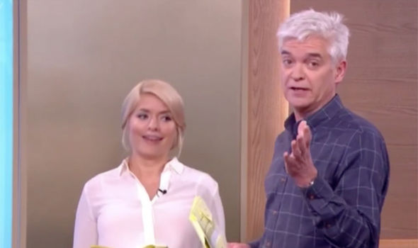 Holly Willoughby jokes about fainting on This Morning