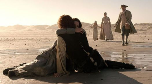JAime and Claire Fraser