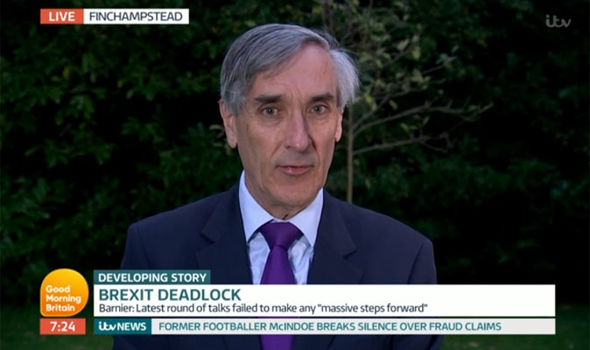 John Redwood spoke over Chuka Umunna on Good Morning Britain