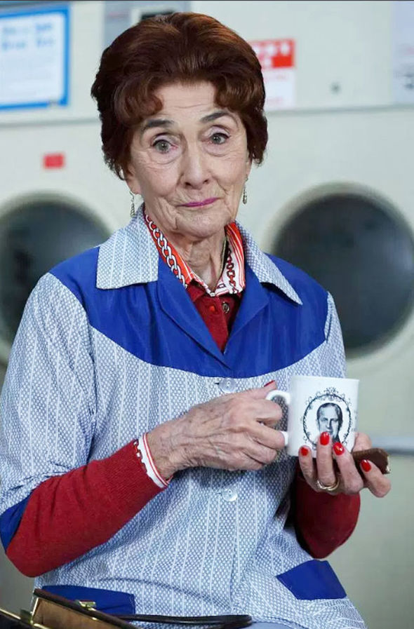 June Brown EastEnders blames husband's suicide