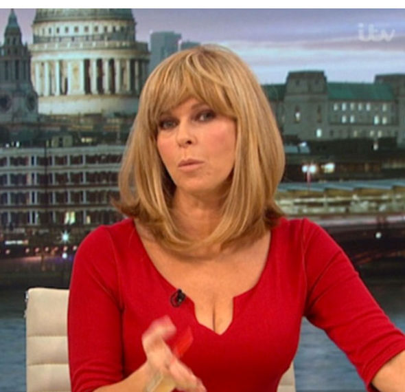 Kate Garraway Good Morning Britain cleavage