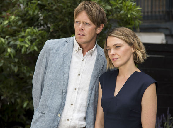 Kris Marshall and Sally Bretton